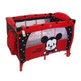Disney Cuties Baby Playpen - Red Colour
