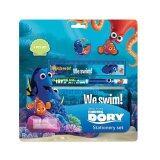 Disney Pixar Finding Dory 5pcs Stationery Set - Blue Colour
