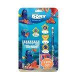 Disney Pixar Finding Dory 9pcs Stationery Set - Blue Colour