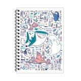 Disney Pixar Finding Dory A5 100S' Hard Cover Note Book - White Colour