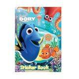 Disney Pixar Finding Dory Sticker Book With Sticker Set - Blue Colour