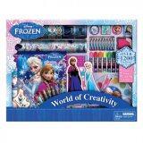 Disney Princess Frozen 1000pcs Art Set - Blue Colour