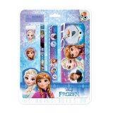 Disney Princess Frozen 5pcs Stationery Set - Blue Colour
