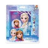 Disney Princess Frozen Note Book Set - Blue Colour