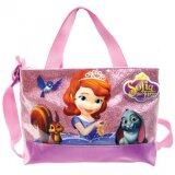 Disney Princess Sofia Square Sling Bag - Purple Colour