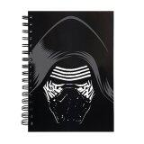 Disney Star Wars A5 100's Hard Cover Notebook - Kylo Ren