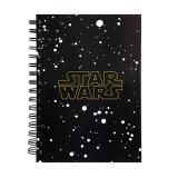 Disney Star Wars A5 100's Hard Cover Notebook - Star
