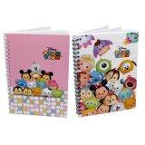 Disney Tsum Tsum Notebook Set- White And Pink Colour
