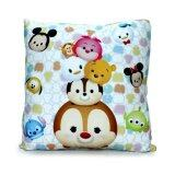 Disney Tsum Tsum Square Cushion - White Colour