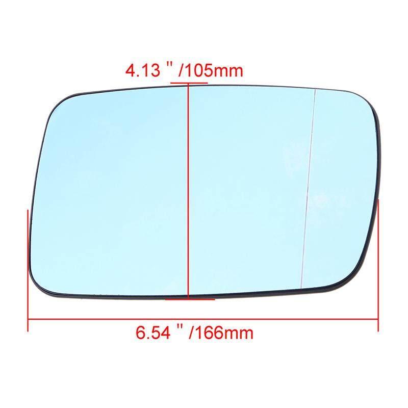 Genuine BMW Right Wing Mirror Wide Angle Glass Heated E46//E65//E66 51168247132