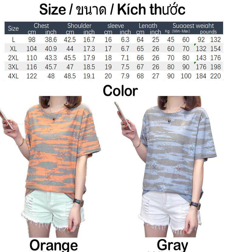 New summer Women Short sleeve Plus size t-shirt for fat ladies wearing good  quality shirt