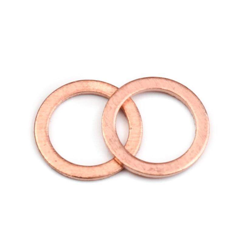 Color : 50pcs, Size : 12x16x1 mm Flat Washers 20//50PCS Solid Copper Washer Flat Ring Gasket Sump Plug Oil Seal Fittings 10141MM Washers Fastener Hardware Accessories Stainless Flat Washer
