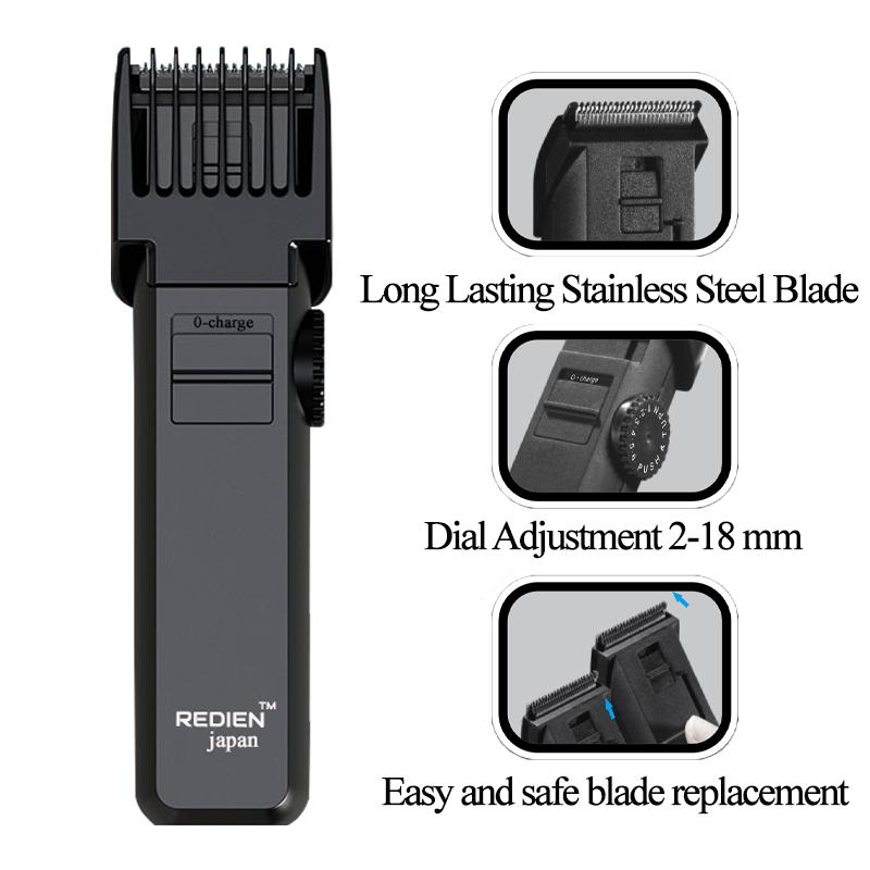 Redien Rn-8131K men's professional hair clipper wit AC/DC function 5