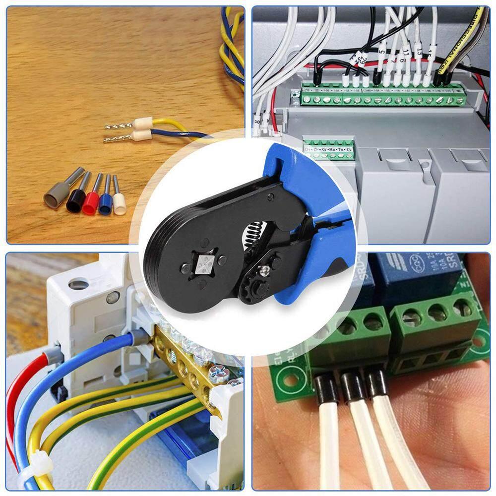 1200pcs Wire Terminal Connector Set Ferrule Crimper Crimping Plier Tool Kit