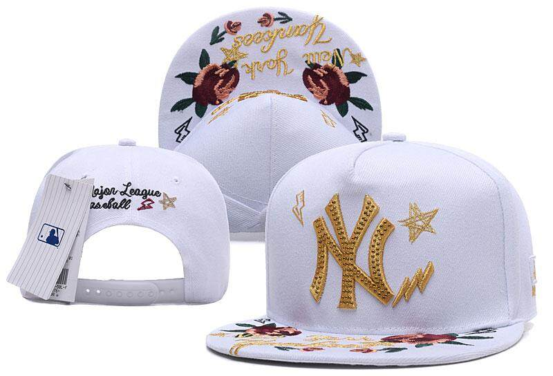 f77801ab44da0 Product details of 2019 Hot Brand New York Blingbling Flowers Fashion  Snapback Cap Casual Baseball Cap Women Embroidery Letter Couple Cap Fashion  Leisure ...