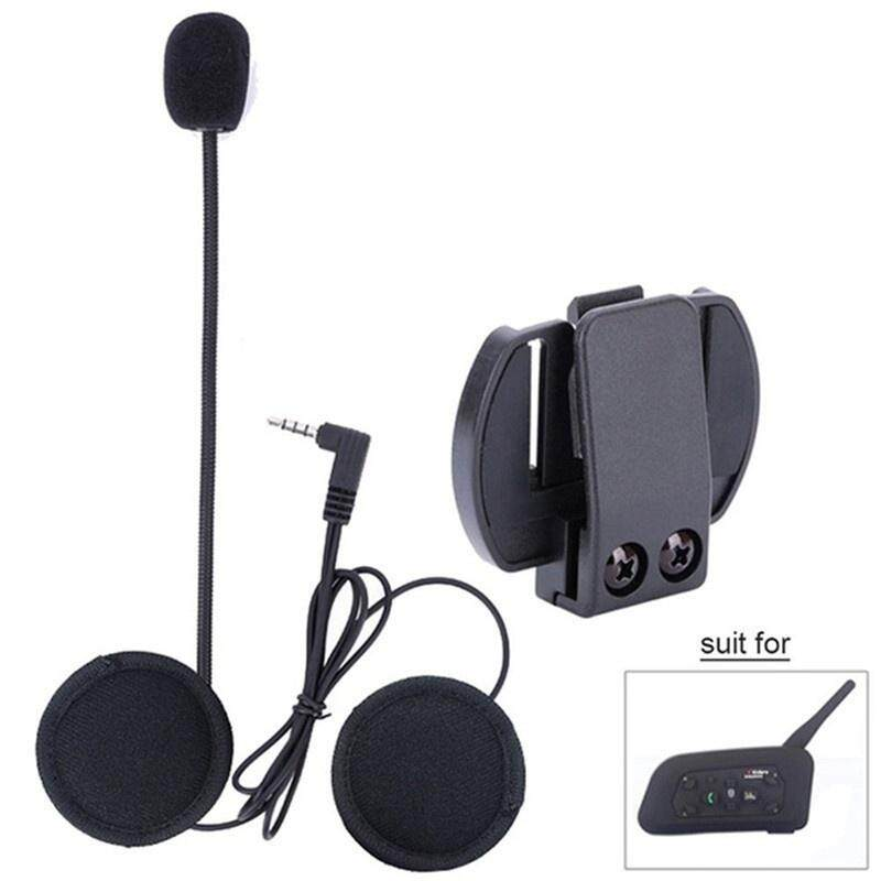 CENBLUE V6 Pro-1200 Vnetphone Motorcycle Helmet Bluetooth Walkie Talkie  Headset Single Pack