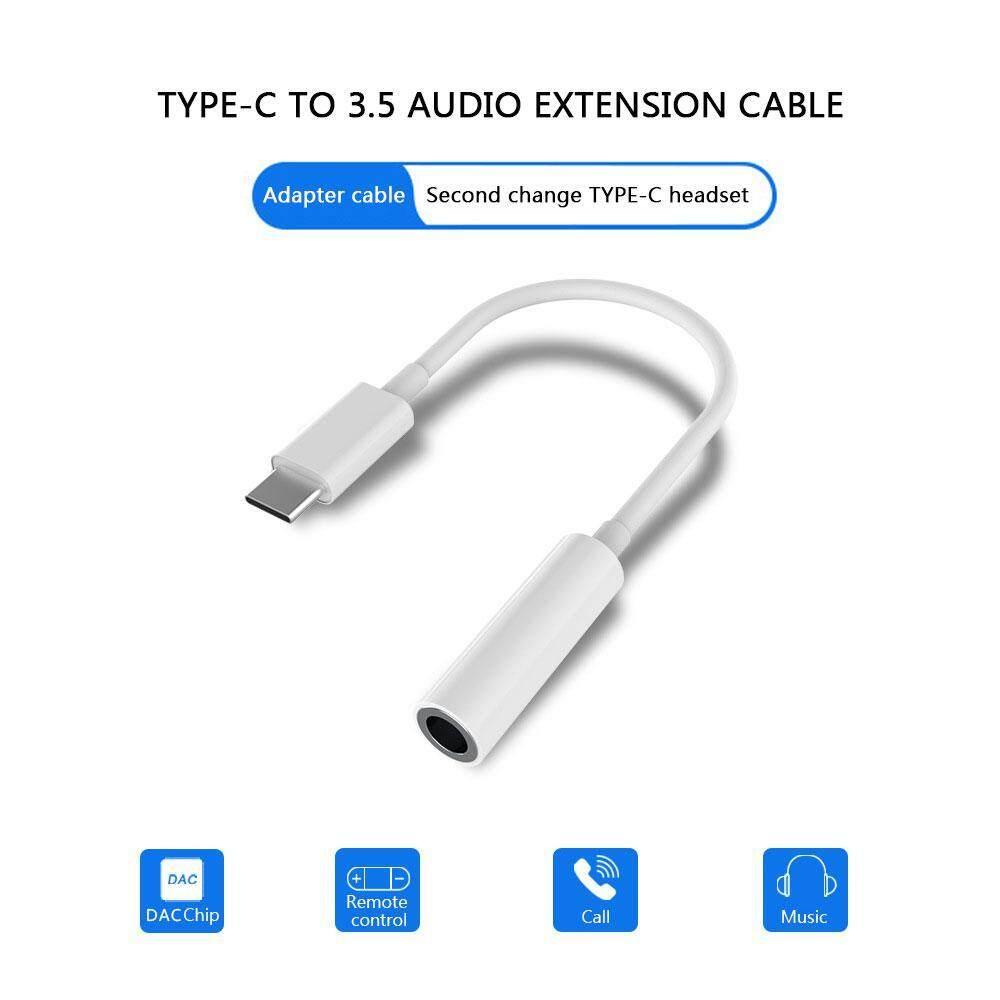 Wincoo USB C Digital to 3 5mm Headphone Audio Adapter,USB Type C Aux  Converter Realtek DAC Hi-res Chipset Compatible with Google Pixel 2/Pixel