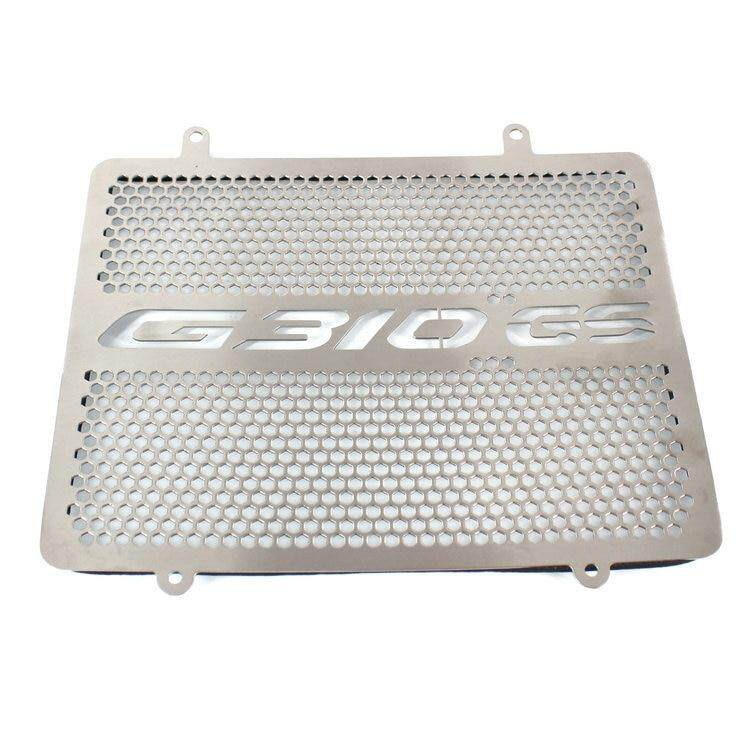 For BMW G310GS G310 GS Grill R & G Protection Parts GS 310 Radiator Guard  Protector Cover Grille Aluminum Accessories Motorcycle(Silver)