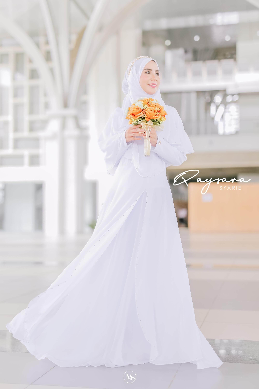 QAYSARA JUBAH TUNANG KAHWIN BAJU RAYA BRIDESMAID BAJU LABUH free tudung 8,  8 set pakaian Pengantin, BATU SWROVSKI , bridesmaid, maid in honour- others