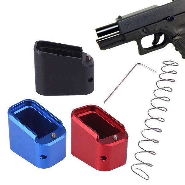 Bellamall-Professional Sports Equipment- Aluminum Alloy with Spring  Tactical Hunting Parts Pad Holster Outdoor Sports Bullet Clip Cartridge  Holder