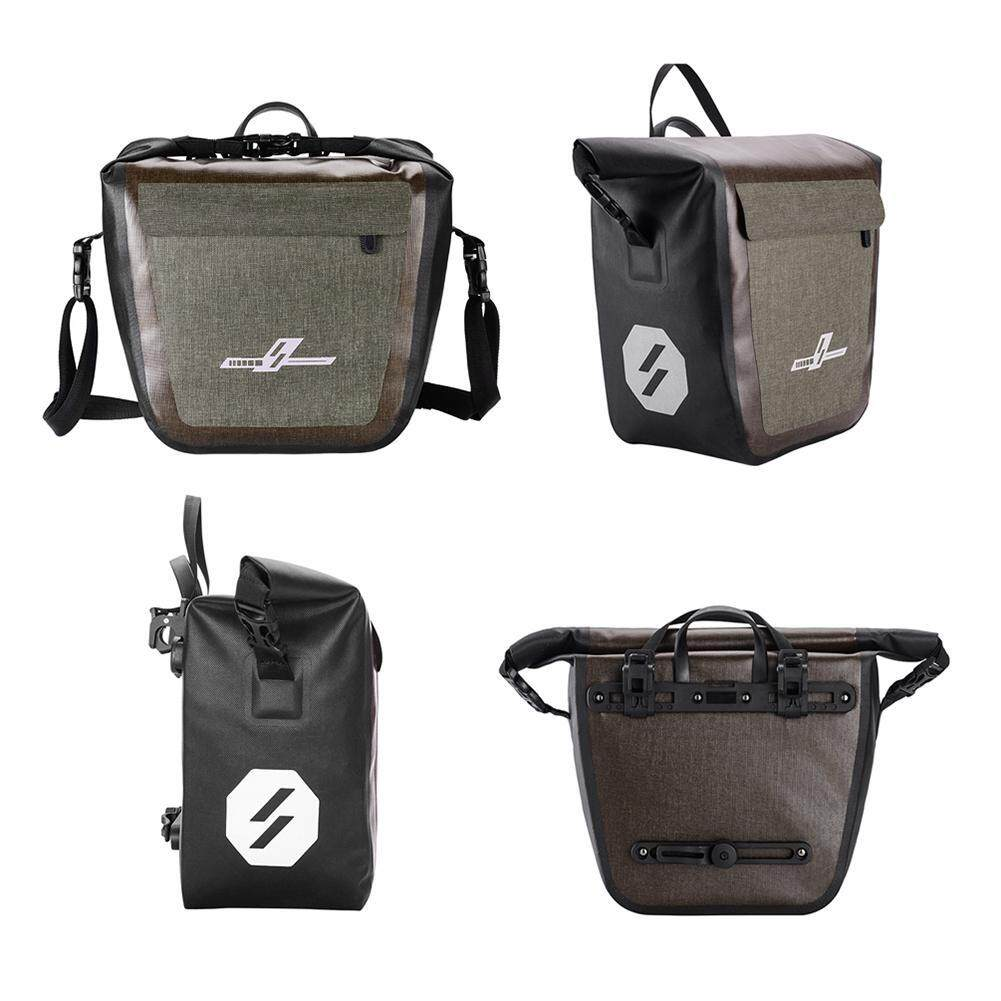 19L Waterproof Bike Pannier Bag Bicycle Cycling Riding Travel Rear Seat Carrier