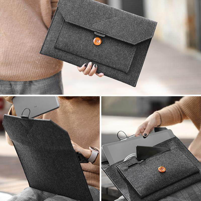 "Laptop Wool Felt Sleeve Case Cover Bag For Macbook Air Pro Retina 11/"" 12 13/"" 15/"""