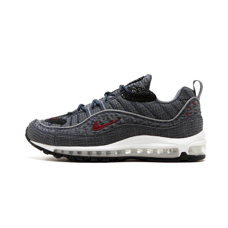 Original Authentic Nike Air Max 98 QS CONE Men's Running Shoes Sport Outdoor Breathable Sneakers 2018 New Arrival 924462 800