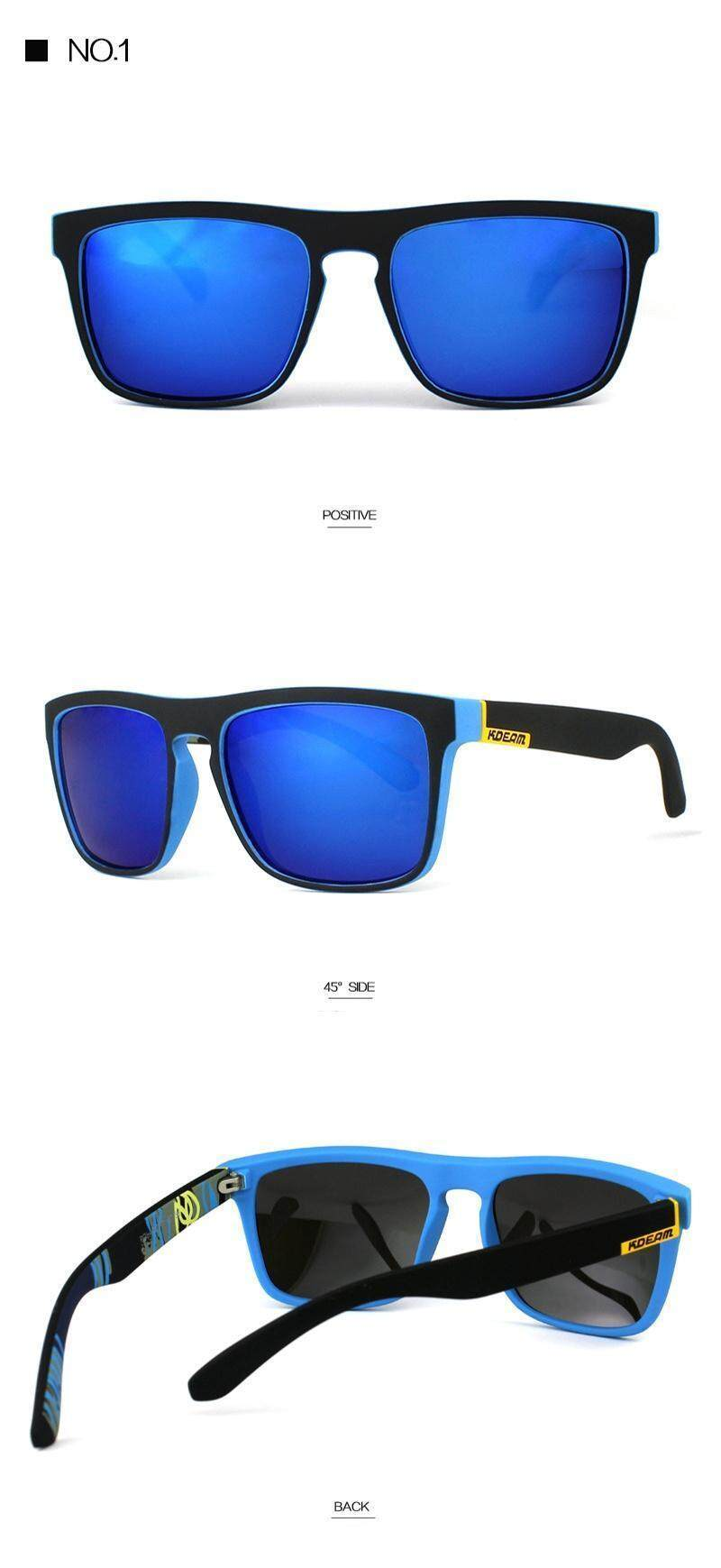 af317d3baa9 Product details of KDEAM Riding Sunglasses Polarized Glasses Driving  Outdoor UV400 Fishing Eyewear