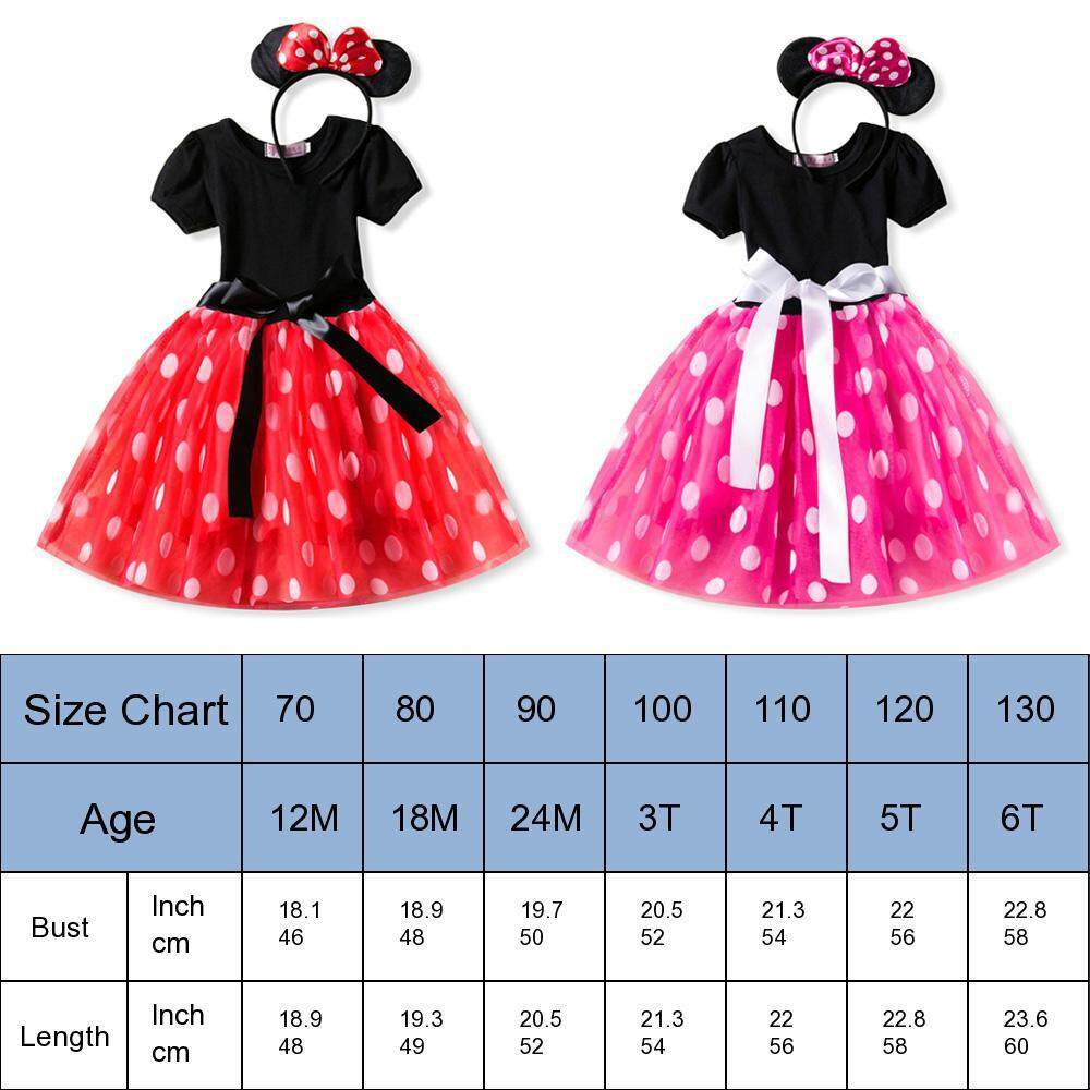 2782db8a0 Specifications of OnLook New kids dress minnie mouse princess party costume  infant clothing Polka dot baby clothes birthday girls tutu dresse