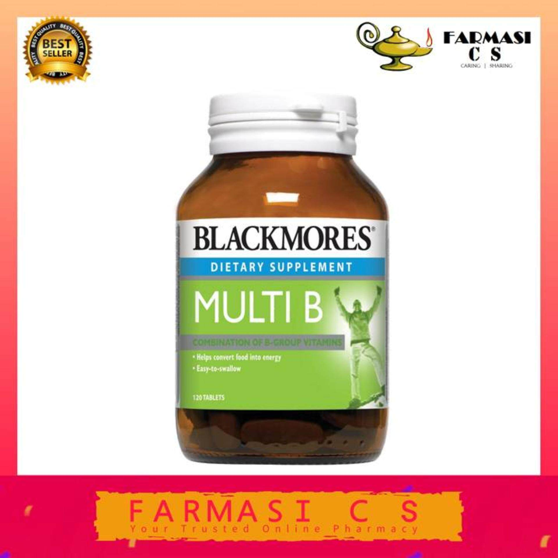 BLACKMORES Multi B 120s EXP:02/2022