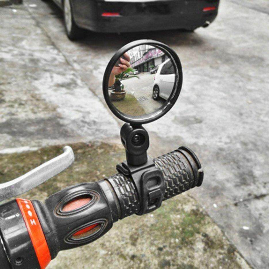 Cycling Bicycle Rear View Mirror 360 Degree Rotation Wide Angle Convex Mirror UY
