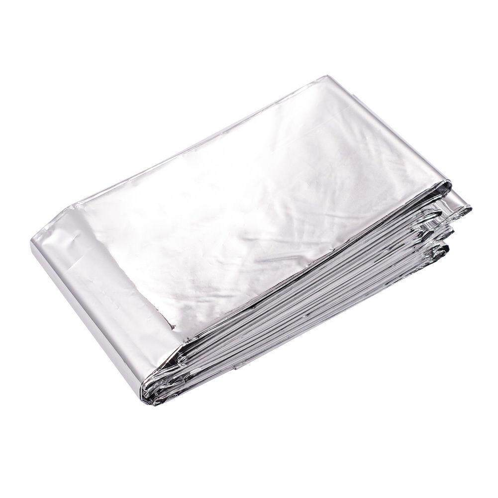 Outdoor Emergency Solar Blanket Survival Safety Insulating Mylar Thermal Heat BE