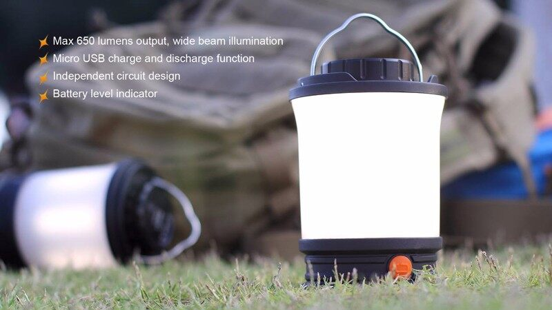 Fenix CL30R rechargeable camping lantern (9)