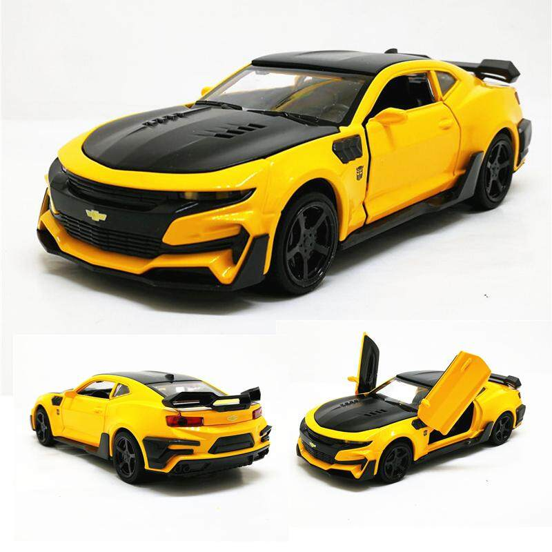 Christmas Sports Car.1 32 Chevrolet Camaro Sports Car Alloy Diecast Model Car Toy 5 Color Pull Back Flashing For Kids Birthday Christmas Gifts Toys Toys For Boys