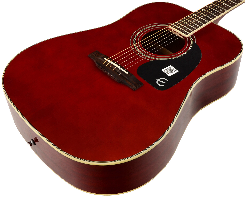 Epiphone Pro 1 Acoustic Guitar Wine Red Pro1 Lazada