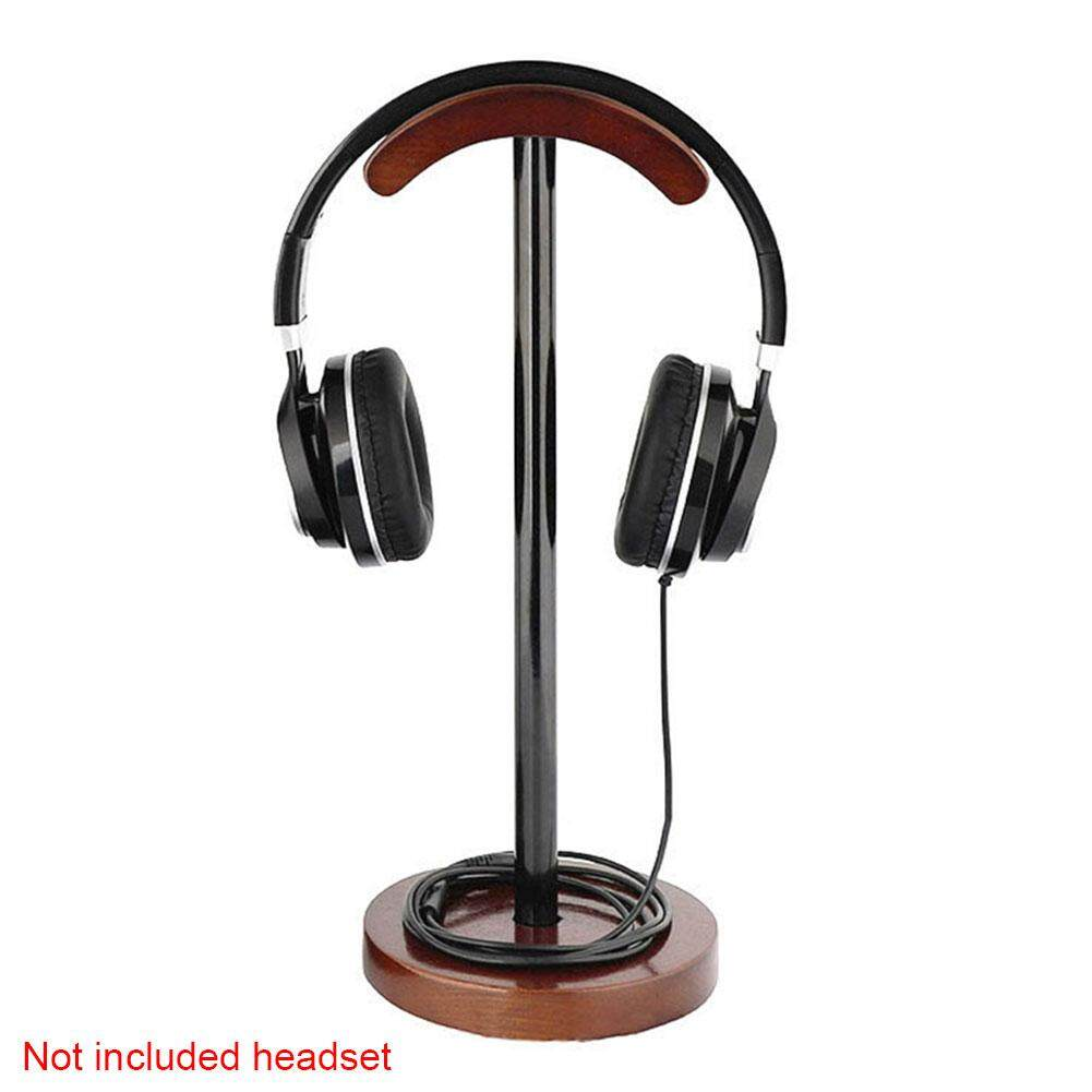Accessories Universal Multifunctional Free Standing Display Walnut Wood Diy Portable Support Desk Headset Stand Lazada Ph