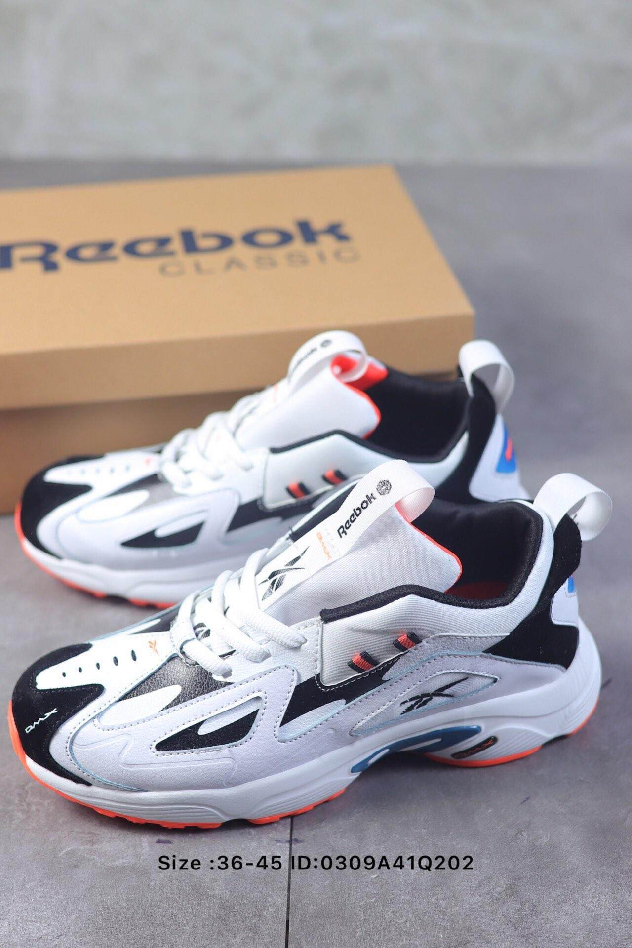 e55597603fc Reebok DMX Series 1200 casual shoes retro sports dad shoes for men and women