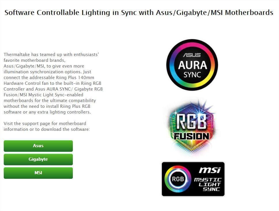 Rgb Fusion Compatible Fans