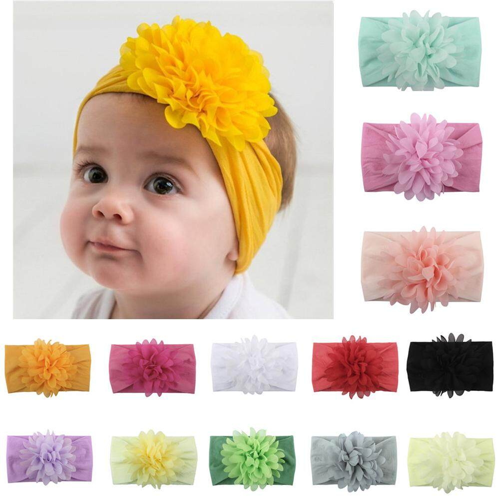 Lovely Infant Colorful Girls Hair Accessories Headwear Headband Flower Bow