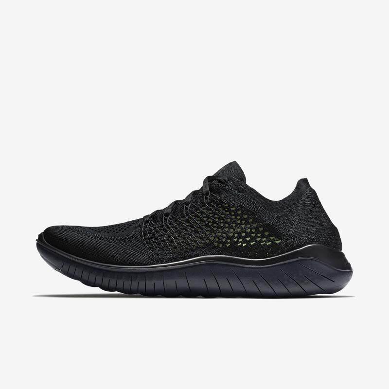 pretty nice b2fb9 374e7 Original Nike Free Rn Flyknit 5.0 Second generation barefoot Running Shoes  Fashion Men Black Sports Sneakers Hot