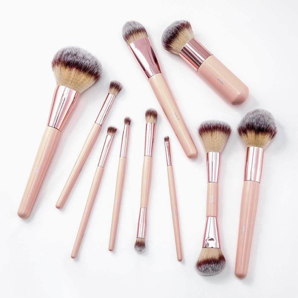 XL Professional Makeup Brush Set 10pcs Premium Brushes for Foundation  Powder Blush Eyebrows Eyeshadow Blender Cosmetic Tools