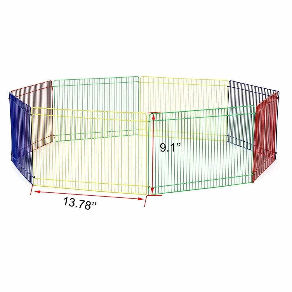 Pet Crates 24x24in 2ft Height 8 Panels Playpen Dog Fence Lazada Ph