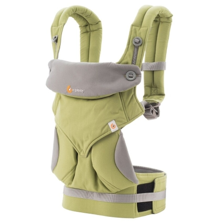 Ergo Baby: Baby Carrier - Four Position 360 (Green)