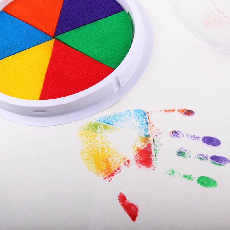 Funny-6-Colors-Ink-Pad-Stamp-DIY-Finger-Painting-Craft-Cardmaking-Large-Round-For-Kids-Learning (1)