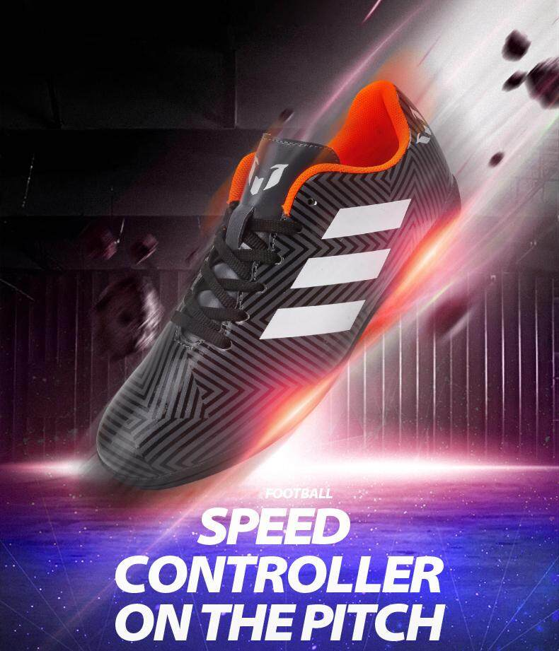 e700c342b05 Specifications of Men Soccer Shoes Indoor Futsal Shoes With Socks  Professional Trainer TF Football Boot EU 36-45