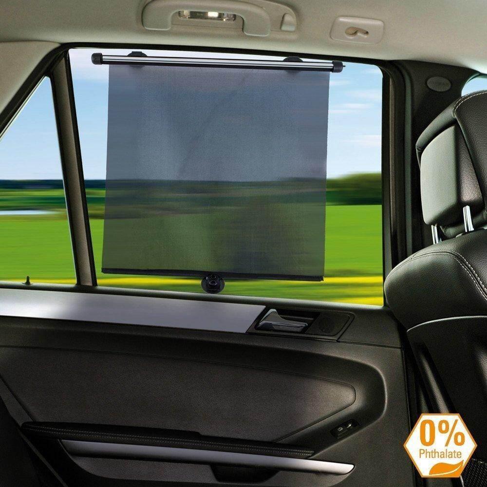 Cute Car Sunshade Suction Cup Curtain Car Side Window Sun Protection Curtain