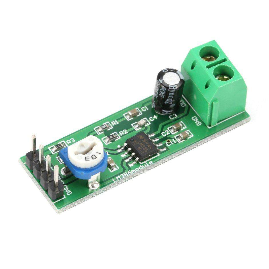 TOPP LM386 Super Mini DC 200X Power Audio Amplifier Board Module Mono  Channel