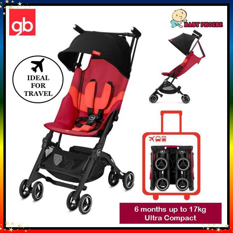Velvet Black From 6 Months to 17 kg approx. 4 Years Cabin Luggage Compliant gb Gold Pockit Air All Terrain Ultra Compact Pushchair