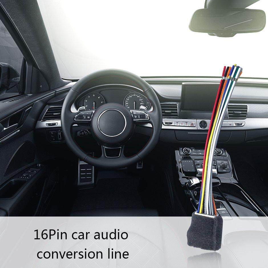 S2T Car 16pin Wire Harness Plug Cable Connector Mitsubishi For Junge/Lancer/Ling Vehicle Wire Harness Radio Conecti on