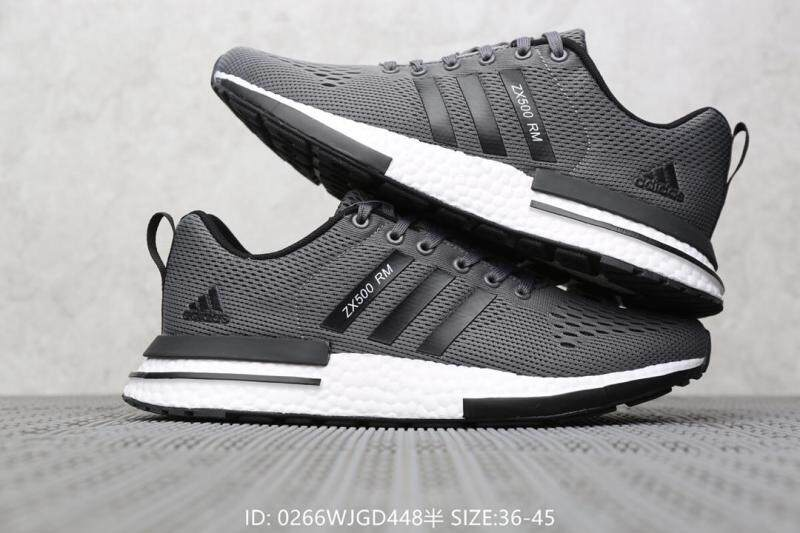 premium selection f080a d671a Adidas..Zx 500 Rm clover casual retro boost cushioned unisex running shoes